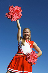 Cheerleader flickr