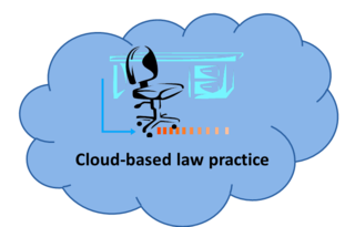 Cloud based law practice 2