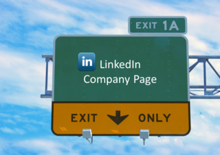 Drive traffic to linkedin company page