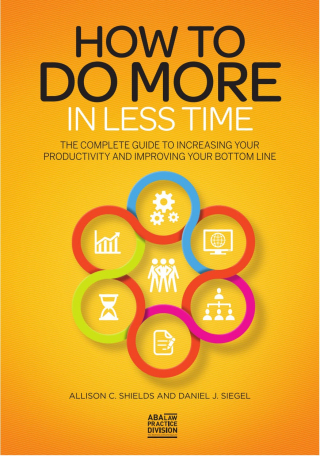 How to do more in less time cover