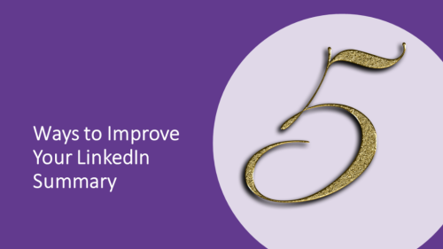 5 Ways to Improve Your LinkedIn Summary